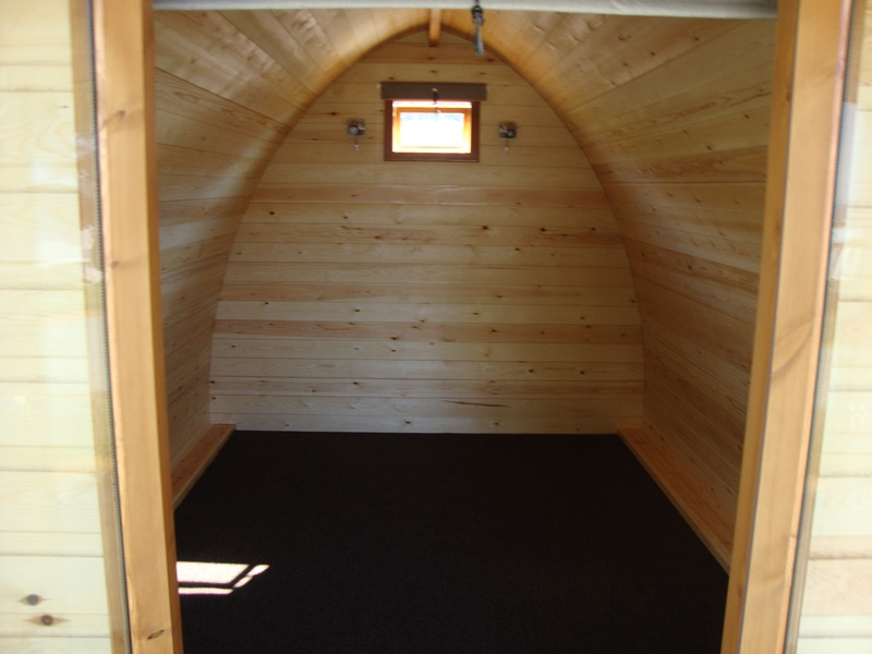 View Of The Inside Of The Pod